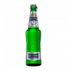 BEER BALTIKA NO 7 (EXPORT BEER) 0.5 LT