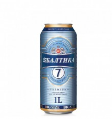 BEER BALTIKA 7 1LT CAN