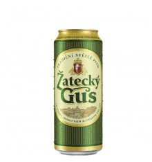 BEER Zatecky Gus Svetly CAN 1L
