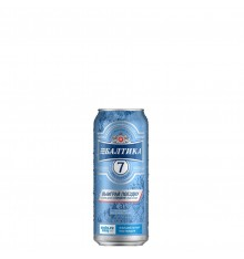 BEER BALTIKA CAN No7 0.33ml (EXPORT BEER)