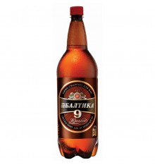BEER BALTIKA NINE STRONG 1.5L PET