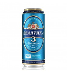 Beer Baltika no. 3 -1lt CAN  (Classic Beer)