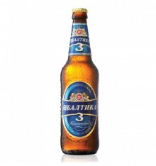 ΜΠΥΡΑ  BALTIKA no. 3 0.5λτ (Κλασική μπύρα)